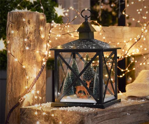 Festliche Stimmung mit Licht & Weihnachtsdeko Teaser Bild