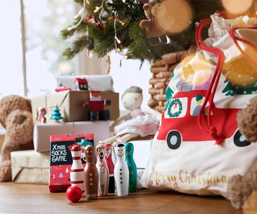 Gewinnen Sie mit Tchibo ein weihnachtliches Spiel- und Bastelset! Teaser Bild