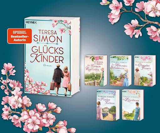 GLÜCKSKINDER – der neue Roman von Teresa Simon Teaser Bild