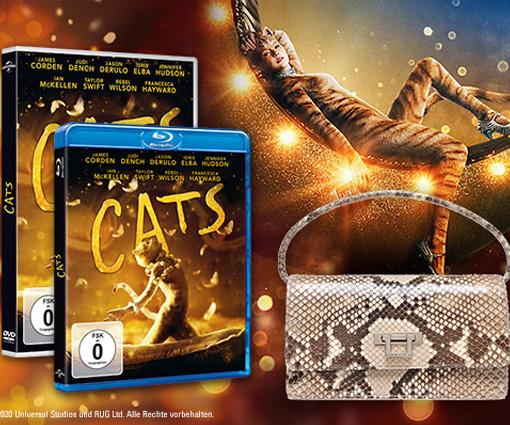 Zum DVD- und Blu-ray Start von CATS eine Luxustasche gewinnen! Teaser Bild