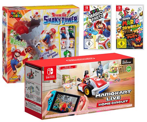 Gewinnen Sie ein schönes Nintendo Spiele Paket Teaser Bild