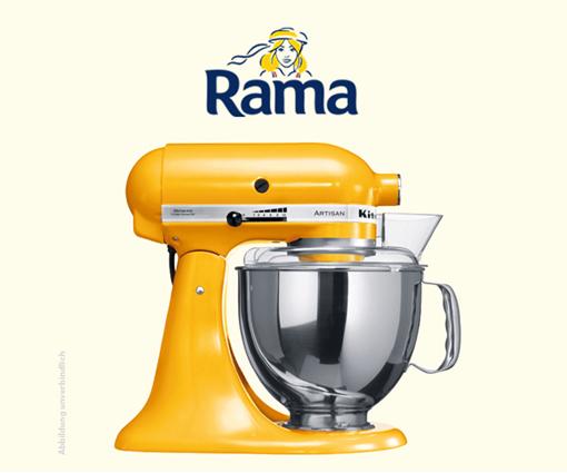100% pflanzlicher Genuss mit Rama: Gewinne eine KitchenAid! Teaser Bild