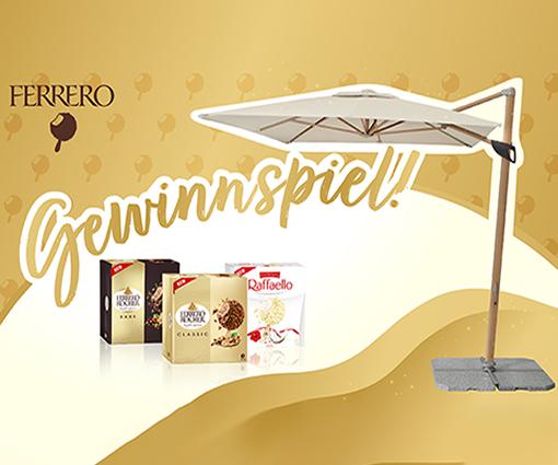 Mit Ferrero Eis und etwas Glück Sonnenschirm von Doppler gewinnen Teaser Bild
