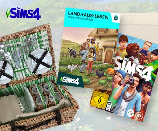"""Ländliche Idylle in """"Die Sims 4 Landhaus-Leben"""" Teaser Bild"""