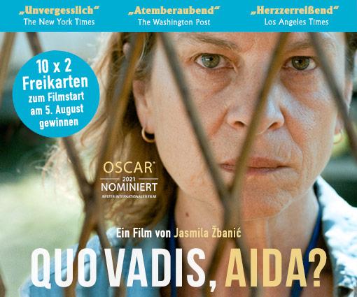 Bewegendes und Oscar-nominiertes Drama: QUO VADIS, AIDA? Teaser Bild