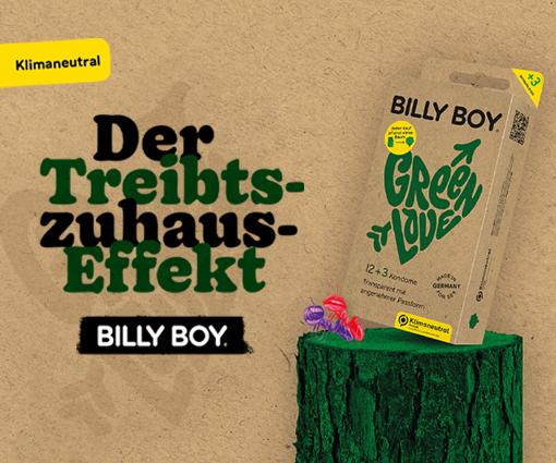 Mit BILLY BOY den Treibts-Zuhaus-Effekt steigern Teaser Bild