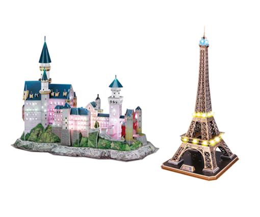 Gewinne ein strahlendes LED 3D Puzzle von Revell Teaser Bild