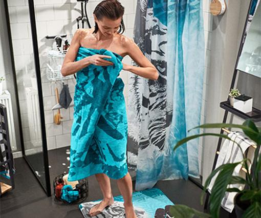 Wild auf Bad-Design: Gewinnen Sie ein Badezimmer-Set von Tchibo Teaser Bild