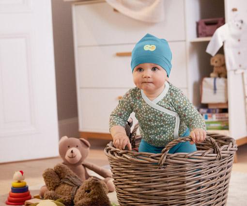 Gewinnen Sie ein Set der neuen Baby- und Kids-Kollektion von Tchibo! Teaser Bild