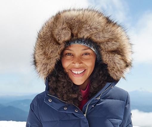 Gewinne einen Sun Valley Frost Daunenparka von Eddie Bauer Teaser Bild
