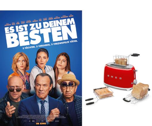 Zum Kinostart von ES IST ZU DEINEM BESTEN modernen Toaster gewinnen Teaser Bild