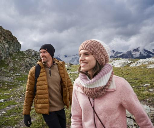 Stylische Looks & funktionale Wäsche für kalte Tage Teaser Bild